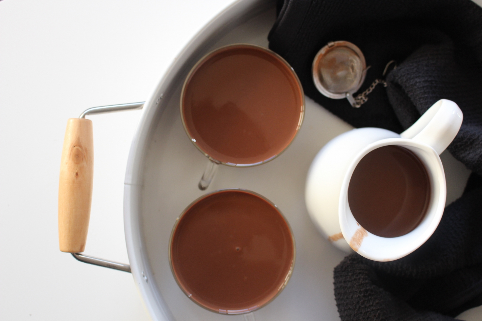 Vegan Hot Chocolate Recipe by Archana's Kitchen - Simple Recipes ...