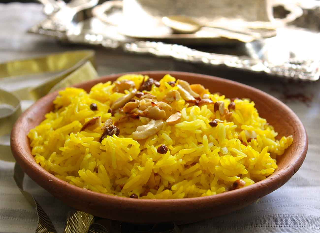 Image result for Meethe Chawal