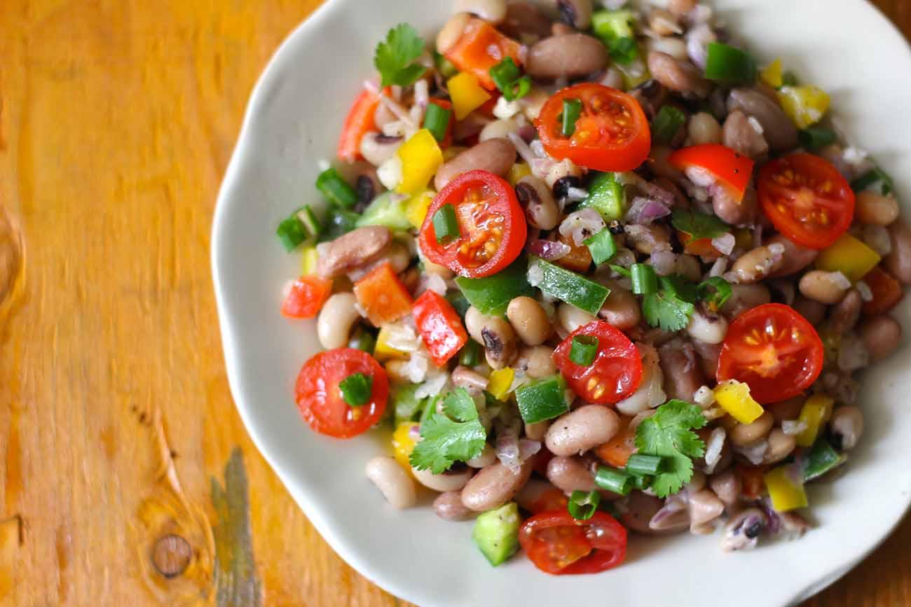 mixed beans salad recipe by archana u0027s kitchen simple recipes