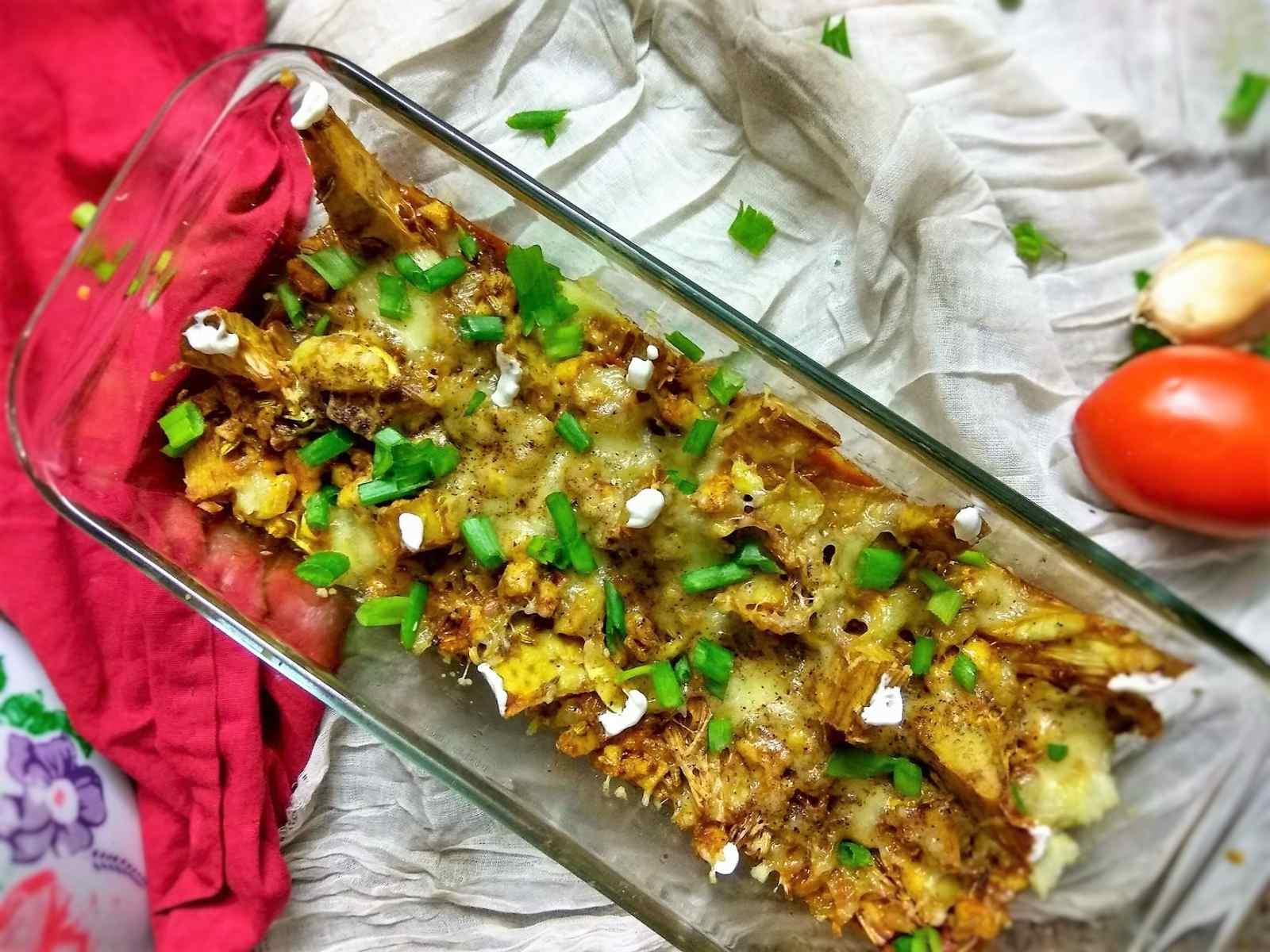 stuffed jackfruit curry stuffed jackfruit curry recipe in hindi forumfinder Images