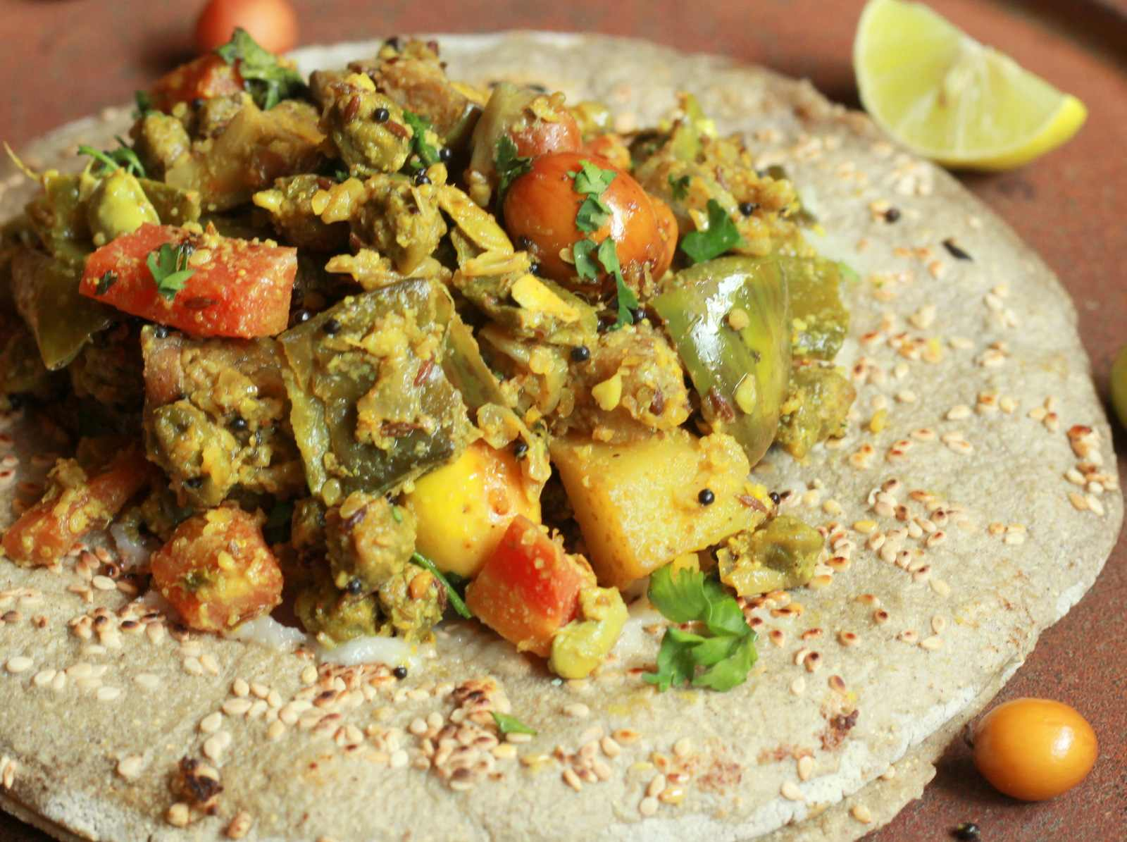 Bhogichi bhaji recipe maharashtrian mixed vegetable stir fry by bhogichi bhaji recipe maharashtrian mixed vegetable stir fry forumfinder Images