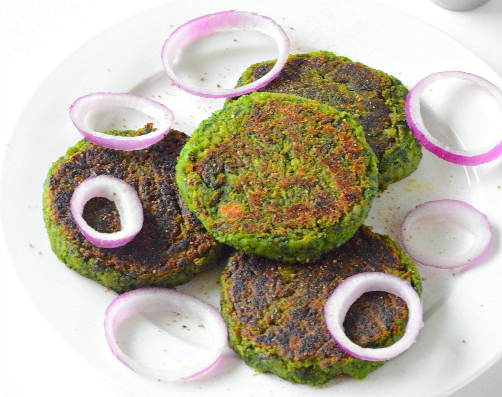 restaurant style hara bhara kebab recipe | vegetarian green
