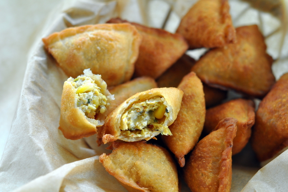 Corn paneer baked samosa recipe non fried by archanas kitchen corn paneer baked samosa recipe non fried forumfinder Image collections