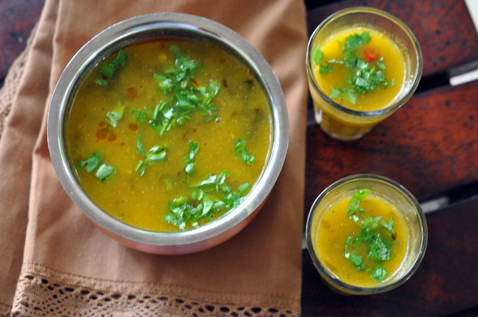 Mango Rasam Recipe Tangy Sweet Spicy Soup