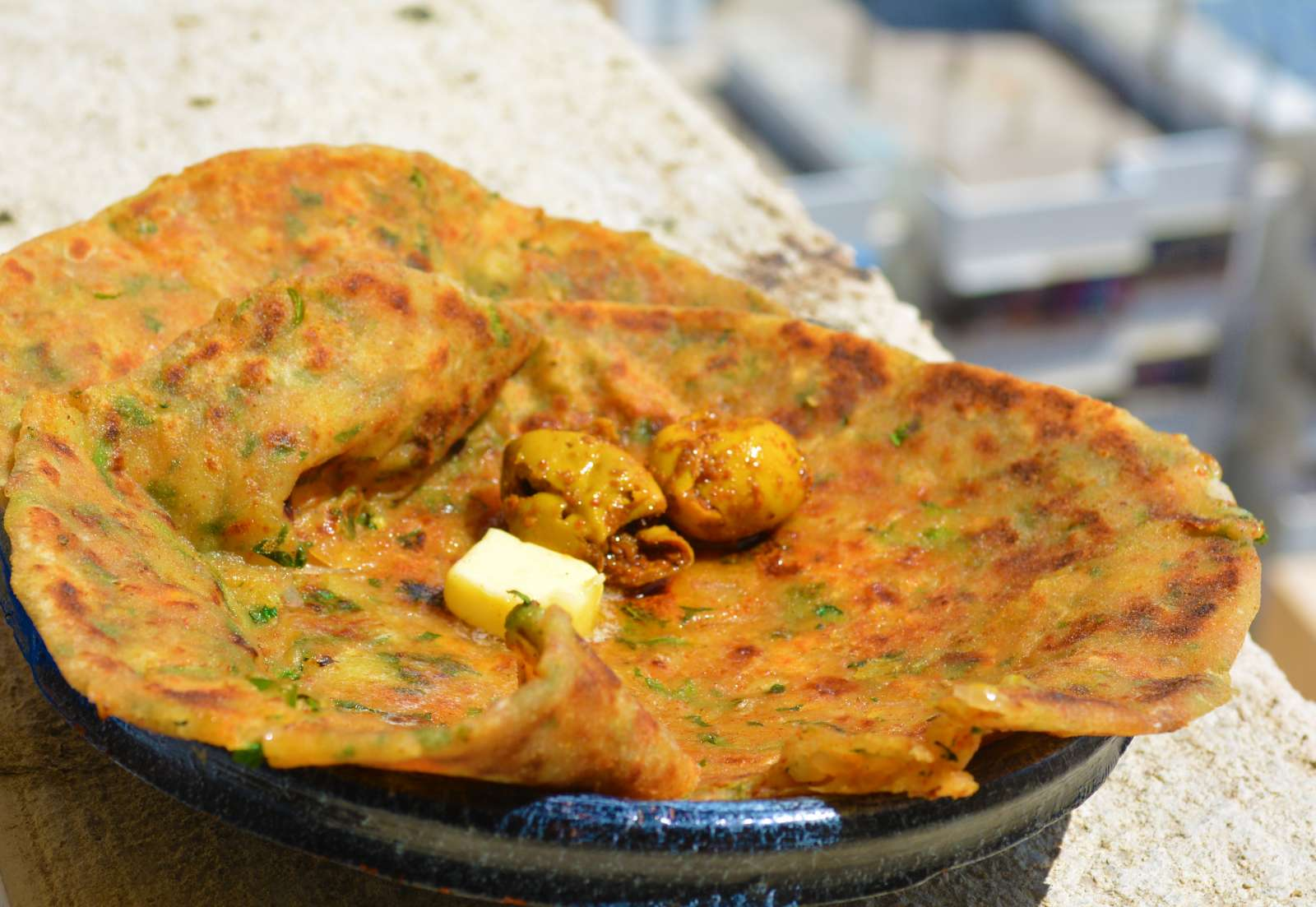 Aloo methi paratha recipe by archanas kitchen aloo methi paratha recipe forumfinder Image collections