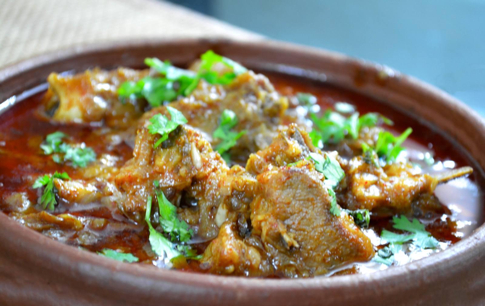 Dhaba mutton recipe spicy mutton gravy by archanas kitchen dhaba mutton recipe spicy mutton gravy forumfinder Gallery