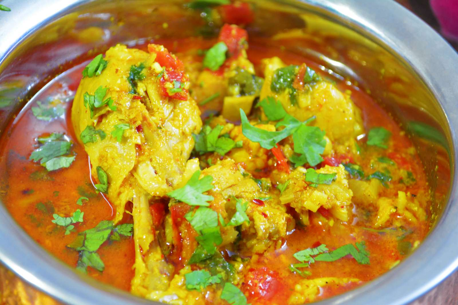 Sindhi style chicken curry recipe by archanas kitchen sindhi style chicken curry recipe forumfinder Choice Image