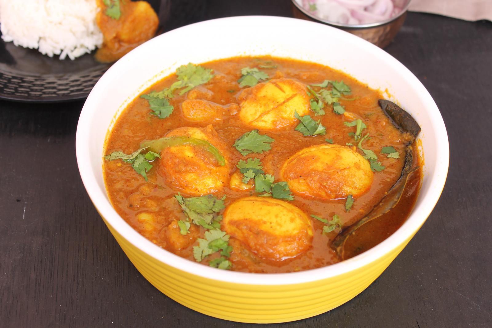 Bengali Egg Curry Recipe