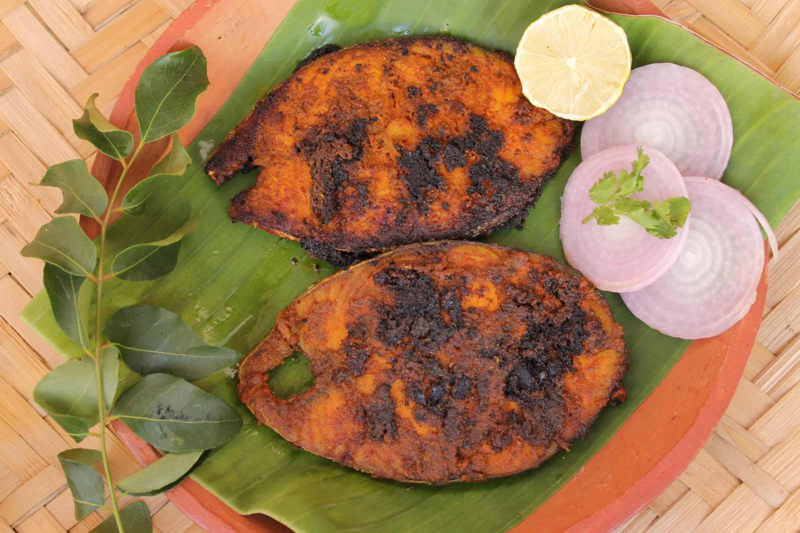 Spicy chettinad fish fry recipe by archanas kitchen spicy chettinad fish fry recipe forumfinder Image collections