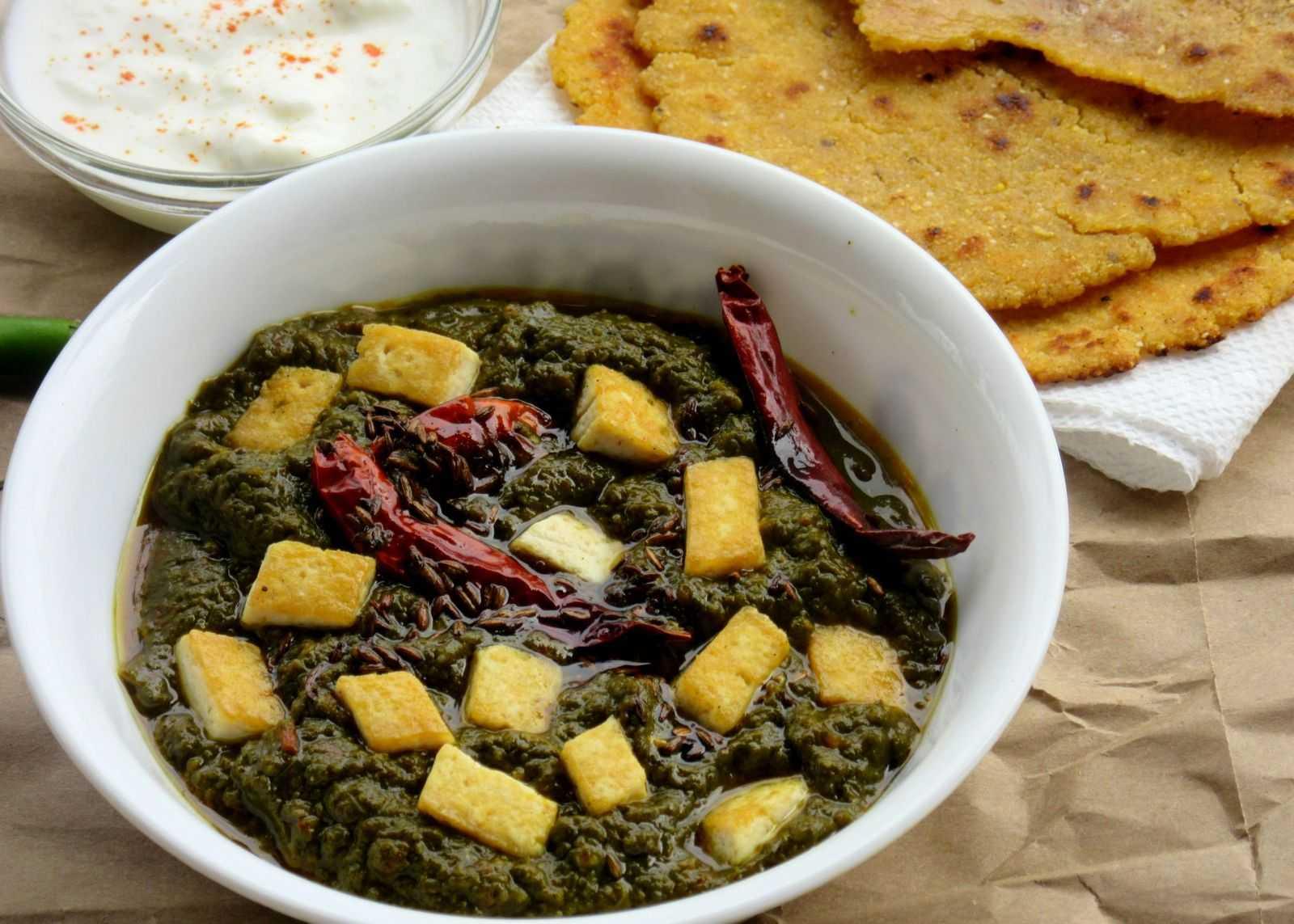 saag tofu recipe in hindi by archanas kitchen saag tofu recipe in hindi forumfinder Images