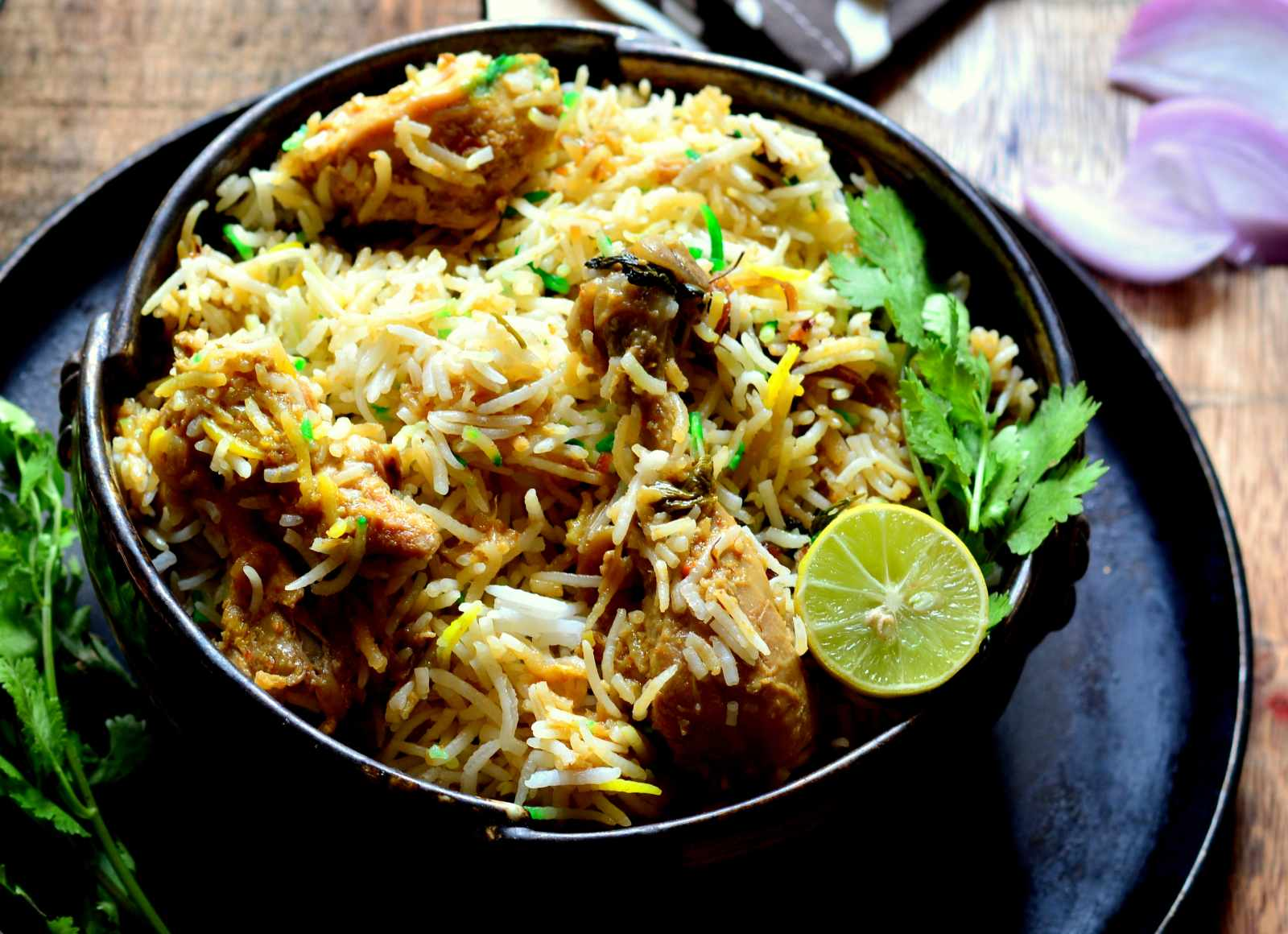 Lucknowi murgh biryani recipe by archanas kitchen lucknowi murgh biryani recipe awadhi style chicken biryani forumfinder Images