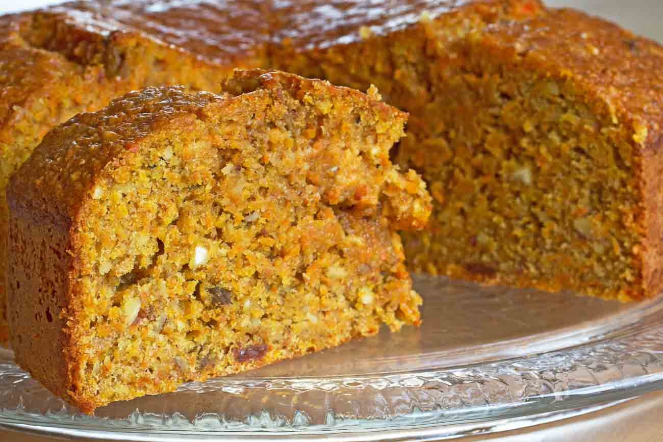 Carrot Cake Recipe for Healthy Heart by Archanas Kitchen Simple