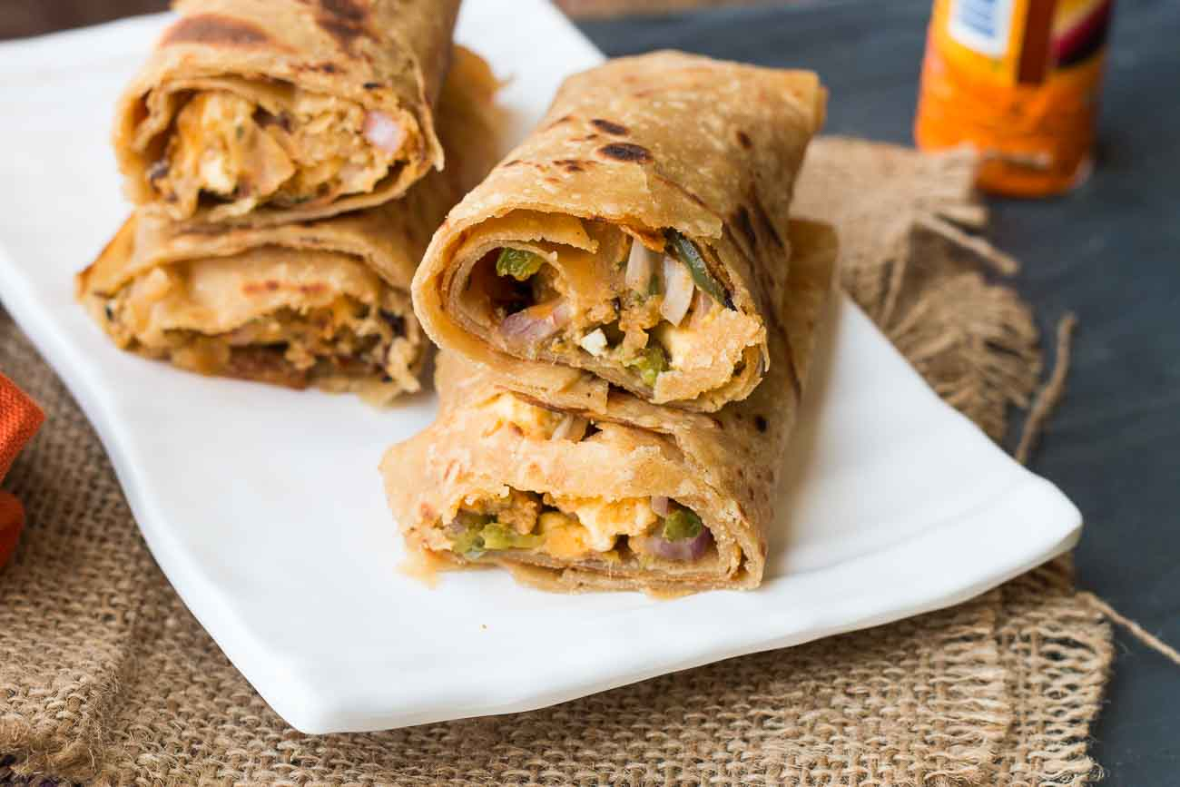 Paneer tikka kathi roll recipe by archanas kitchen paneer tikka kathi roll recipe forumfinder Image collections