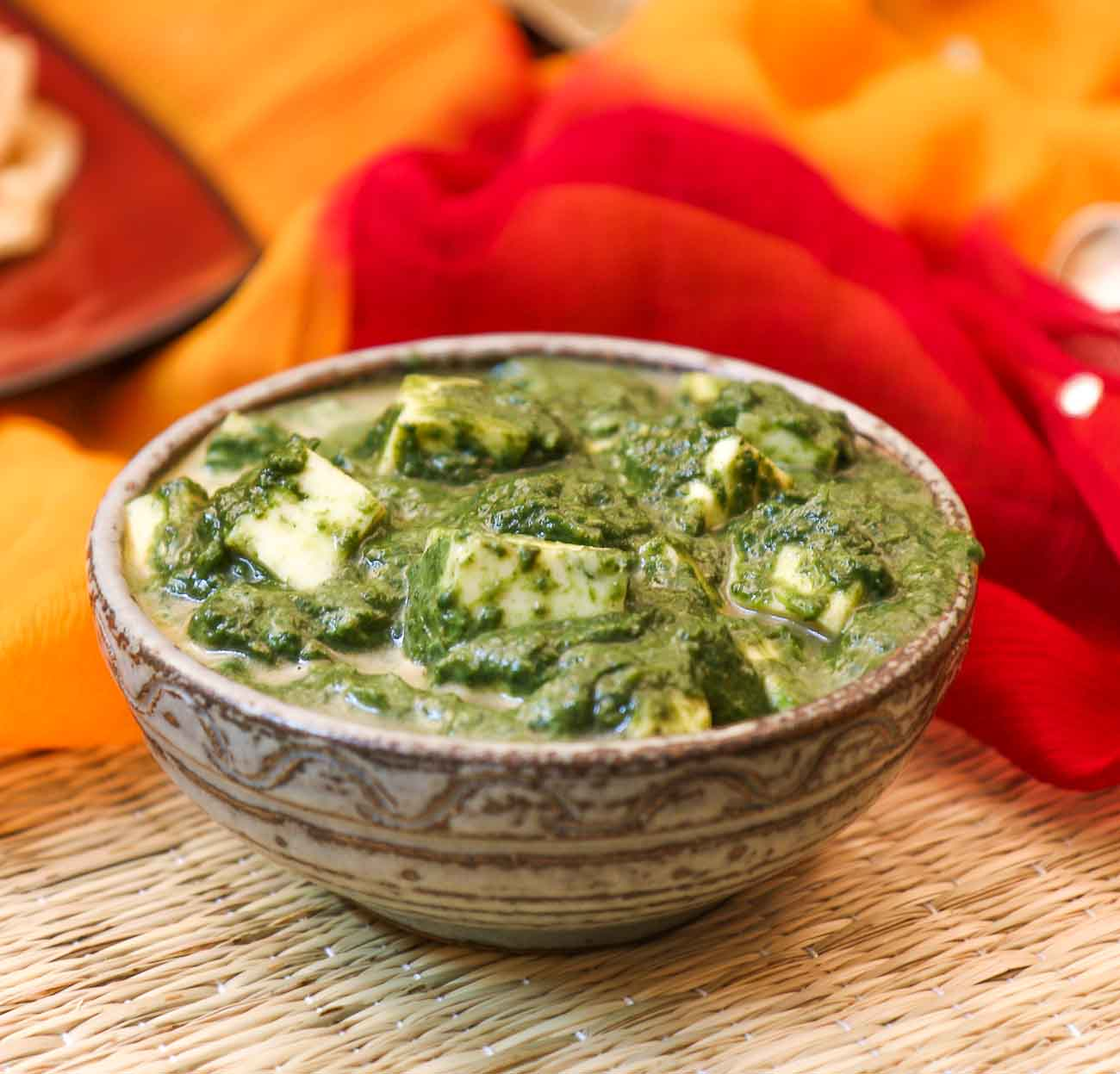 Palak paneer recipe cottage cheese in spinach gravy by archanas palak paneer recipe cottage cheese in spinach gravy forumfinder Images