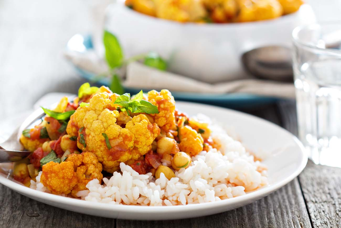 Tandoori chickpea cauliflower curry recipe vegan curry by tandoori chickpea cauliflower curry recipe vegan curry forumfinder Gallery