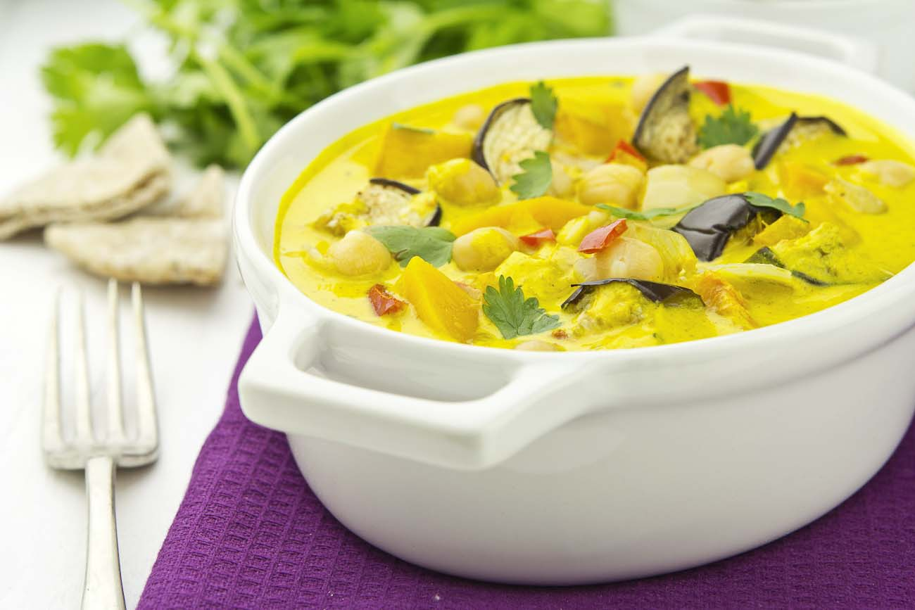 Malaysian vegetable curry recipe by archanas kitchen vegetables combined with malaysian curry paste forumfinder Gallery