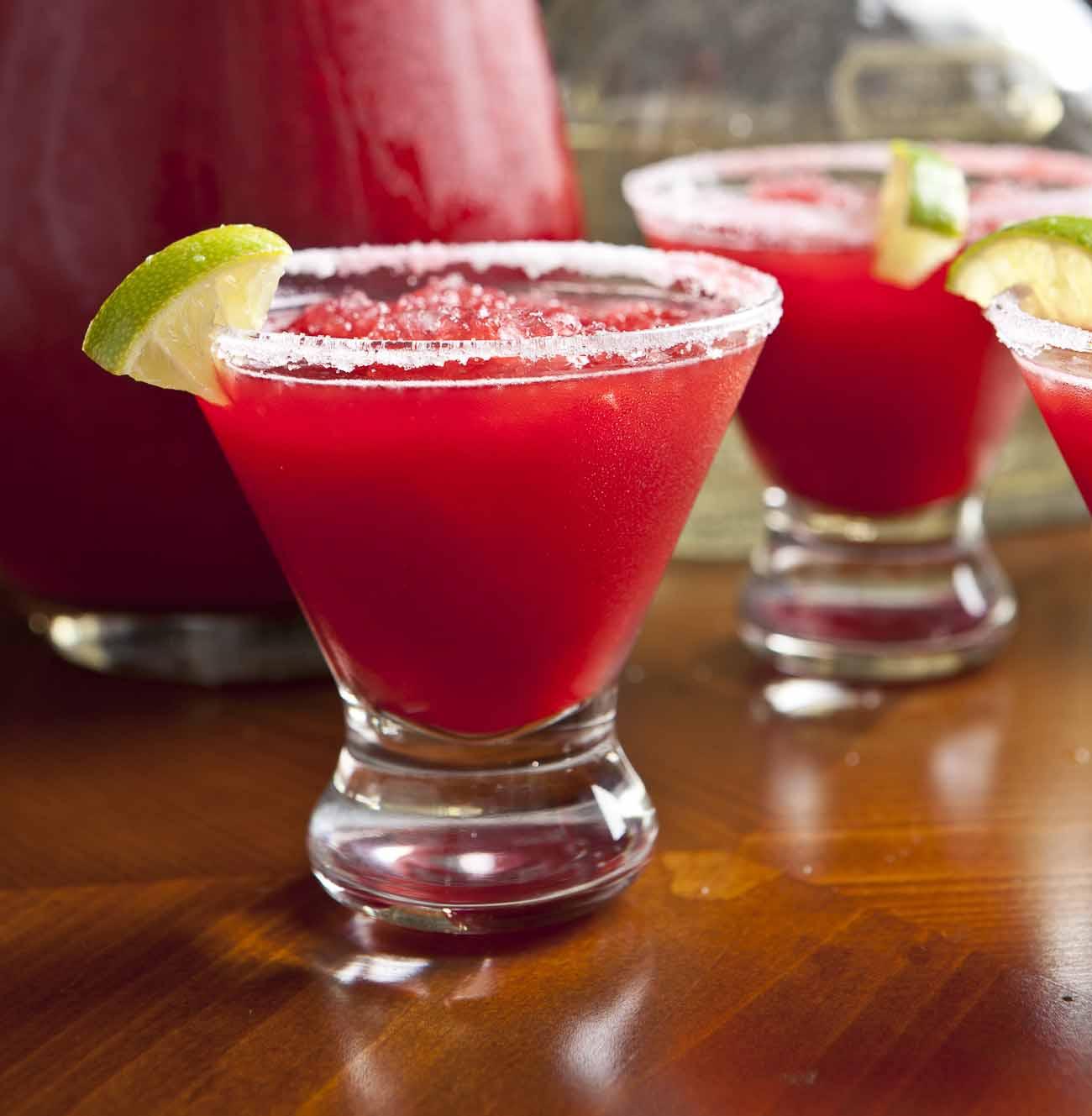 Pomegranate Frozen Margarita Recipe (With Non-Alcoholic Options ...