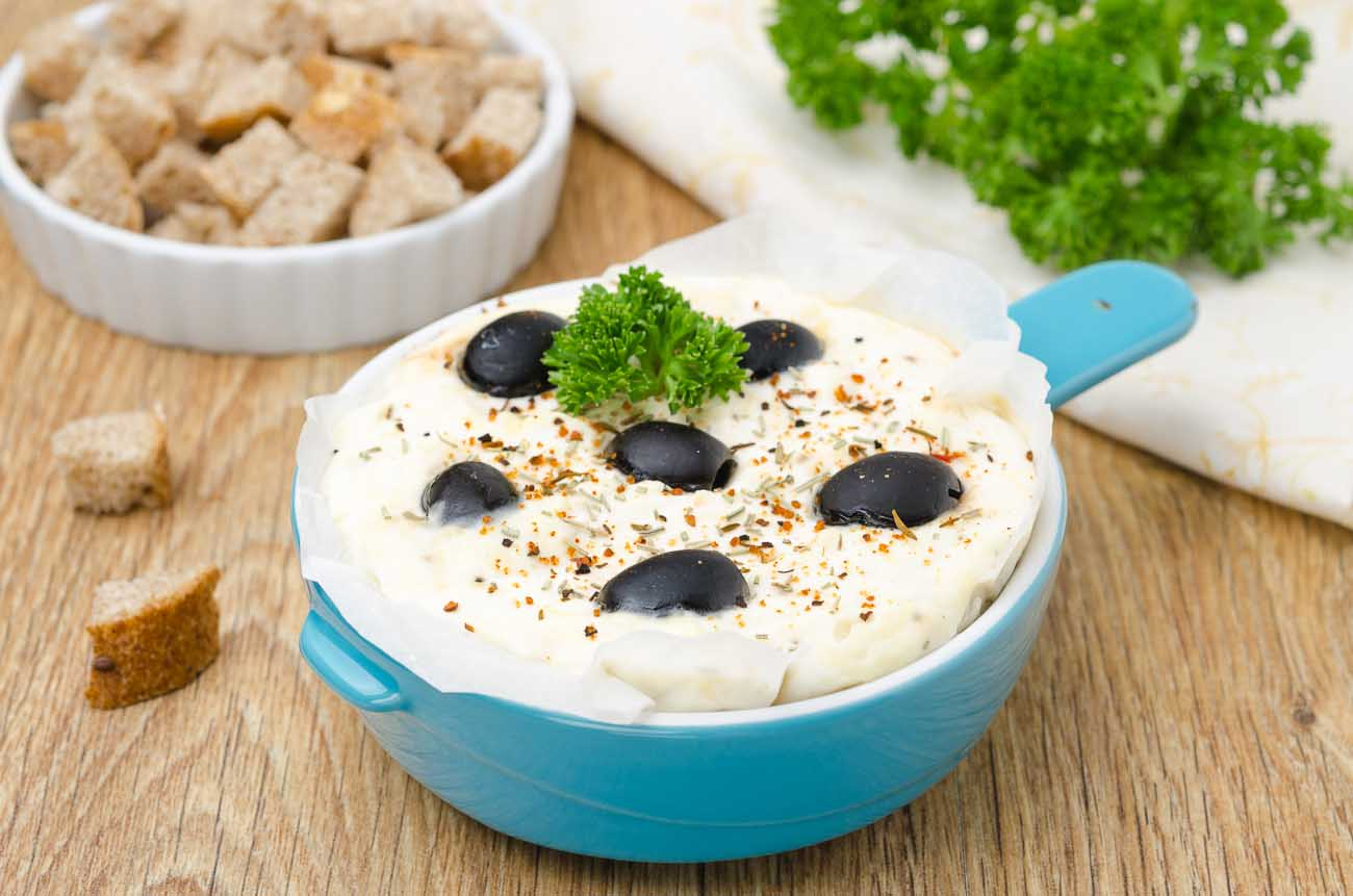 Cottage Cheese Dip Recipe With Pepper And Olives