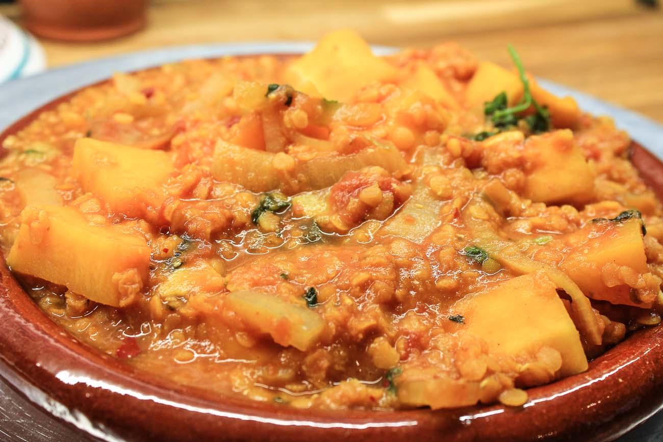 Vegetarian Pumpkin Tagine Recipe By Archanas Kitchen