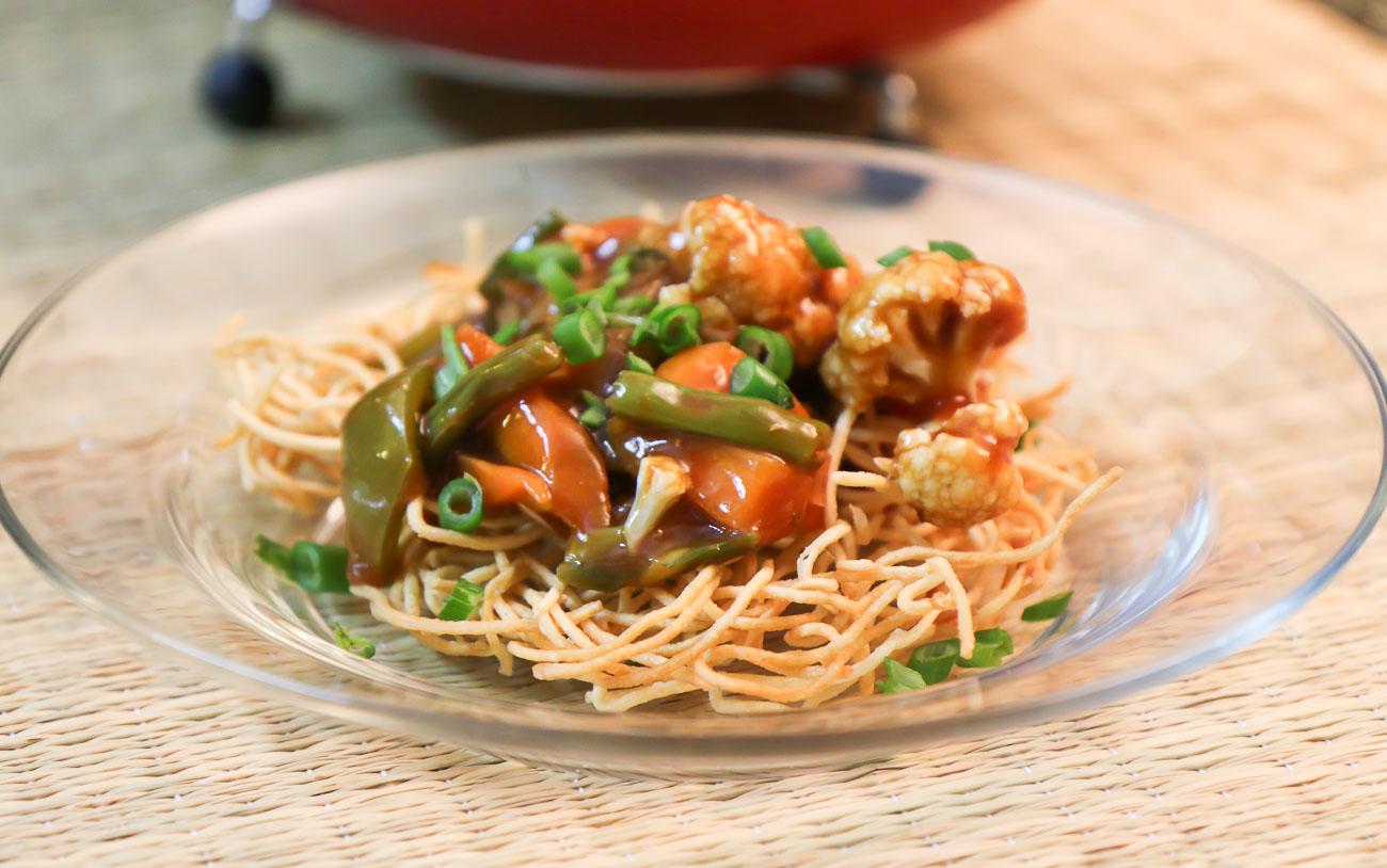 American chop suey recipe crispy noodles topped with sweet and american chop suey recipe crispy noodles topped with sweet and sour vegetables forumfinder Gallery