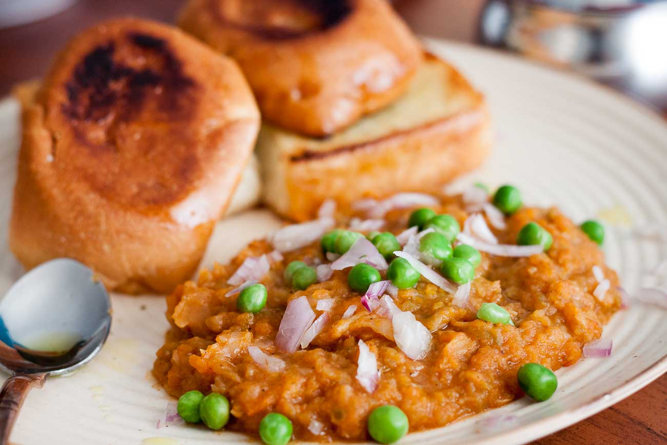 Street Food Of India Pav Bhaji