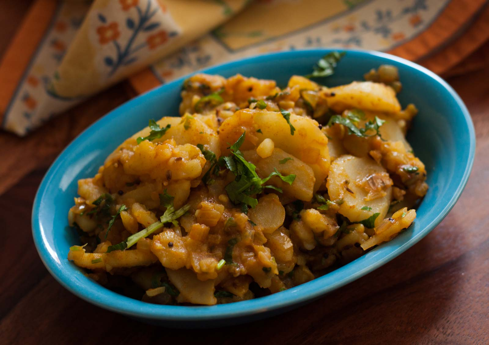 Maharashtrian aloo bhujne recipe potato stir fry by archanas maharashtrian aloo bhujne recipe potato stir fry forumfinder Images
