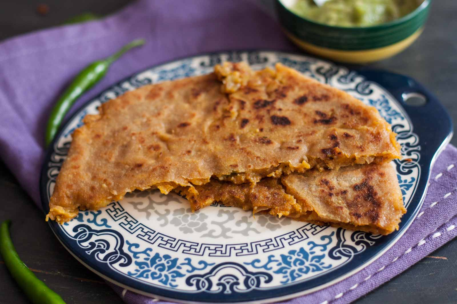 Cheesy aloo paratha recipe by archanas kitchen cheesy aloo paratha recipe forumfinder Image collections