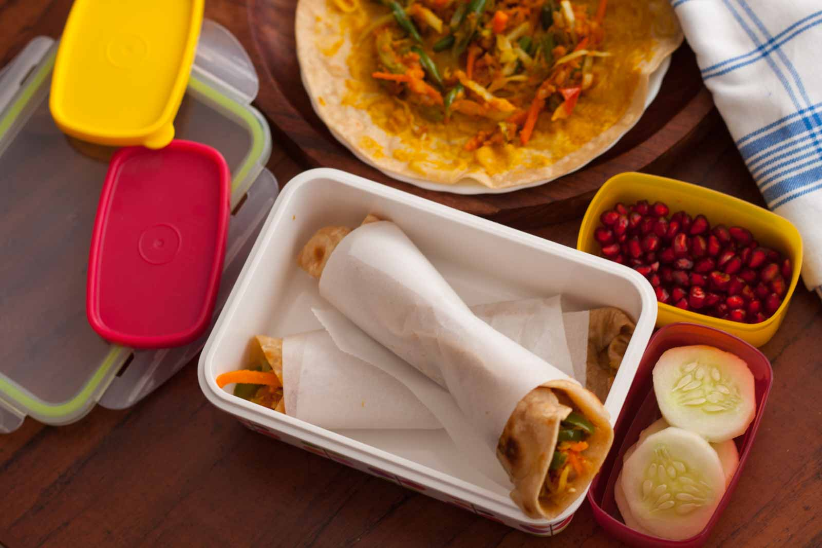 Kids lunch box ideas healthy vegetable paratha rolls with banana kids lunch box ideas healthy vegetable paratha rolls with banana chia seed smoothie recipes forumfinder Image collections