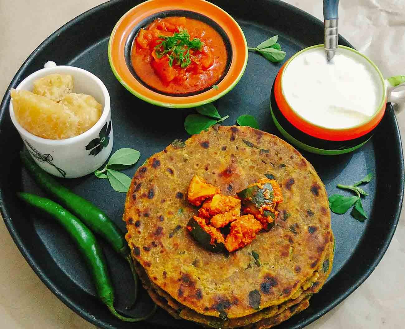 Gujarati methi na dhebra recipe by archanas kitchen forumfinder Images