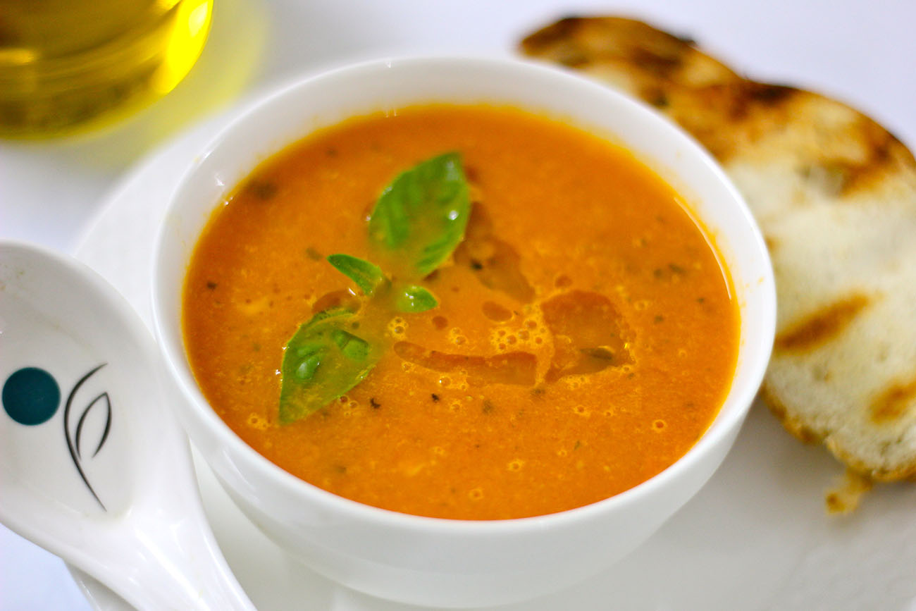 carrot celery soup indian style