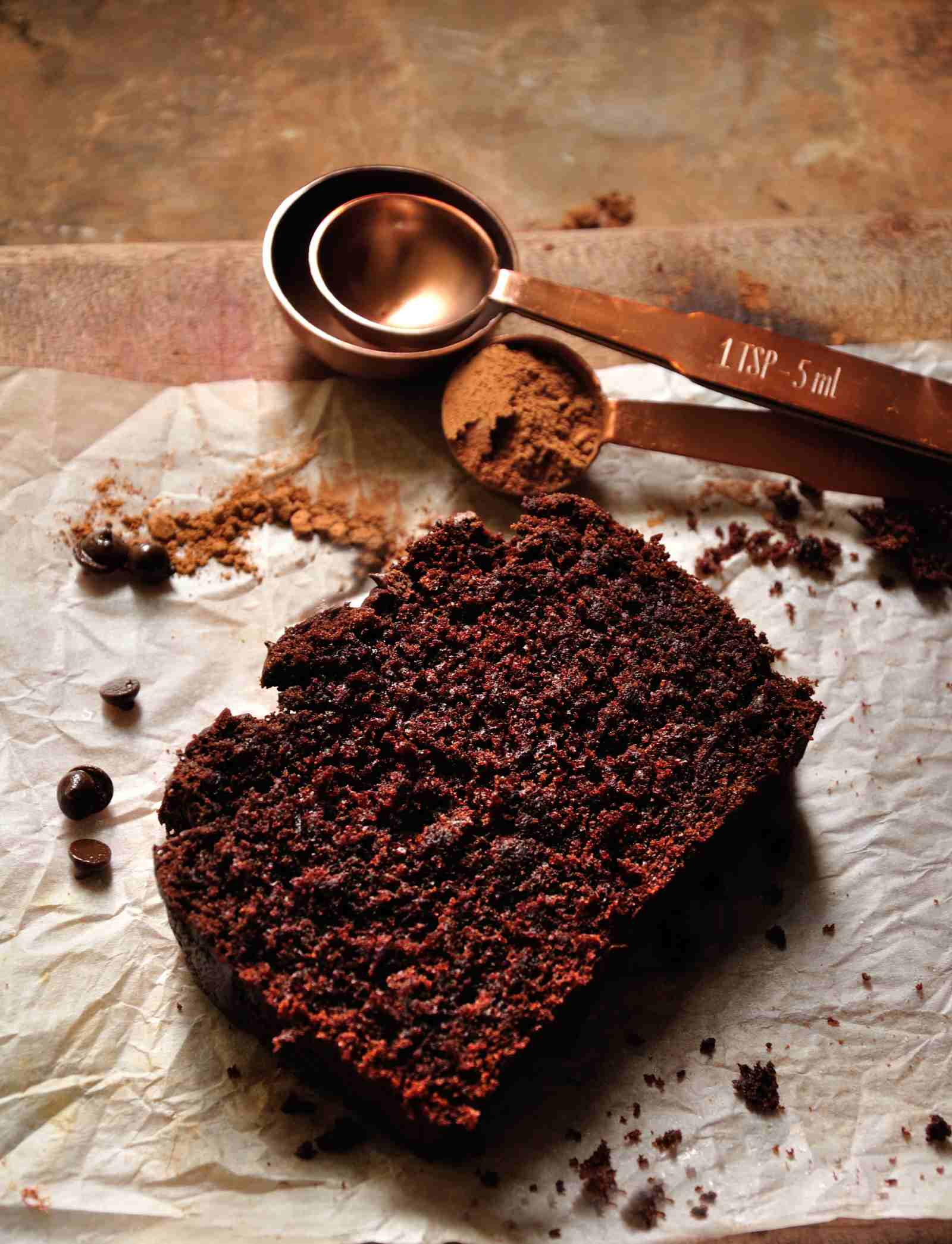 Flourless chocolate banana cake recipe