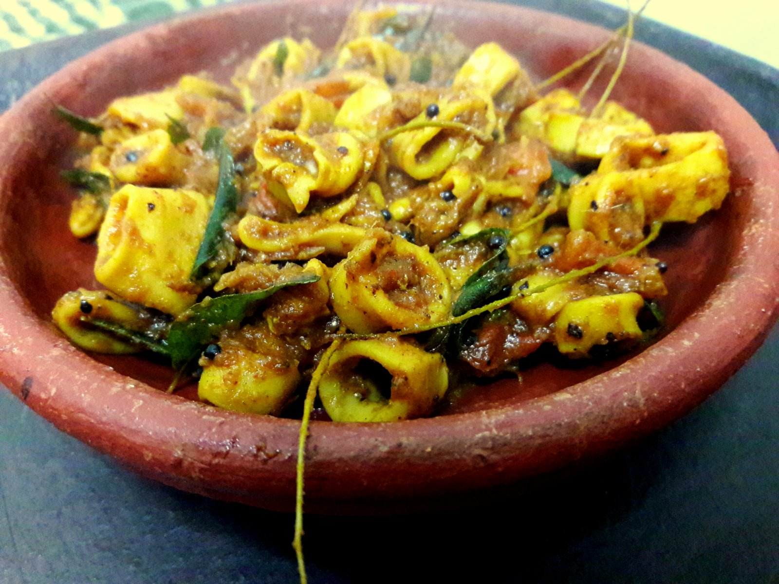Calamari roast recipe kerala style squid by archanas kitchen calamari roast recipe kerala style squid forumfinder