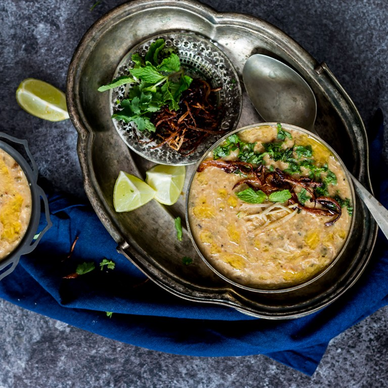 Mughlai style chicken haleem recipe by archanas kitchen mughlai style chicken haleem recipe forumfinder Images
