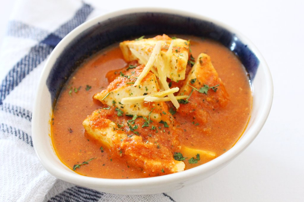 Restaurant style paneer lababdar recipe by archanas kitchen the paneer is cooked in a tomato based gravy with mild spices and kasuri methi it is simple to prepare in no time forumfinder Choice Image