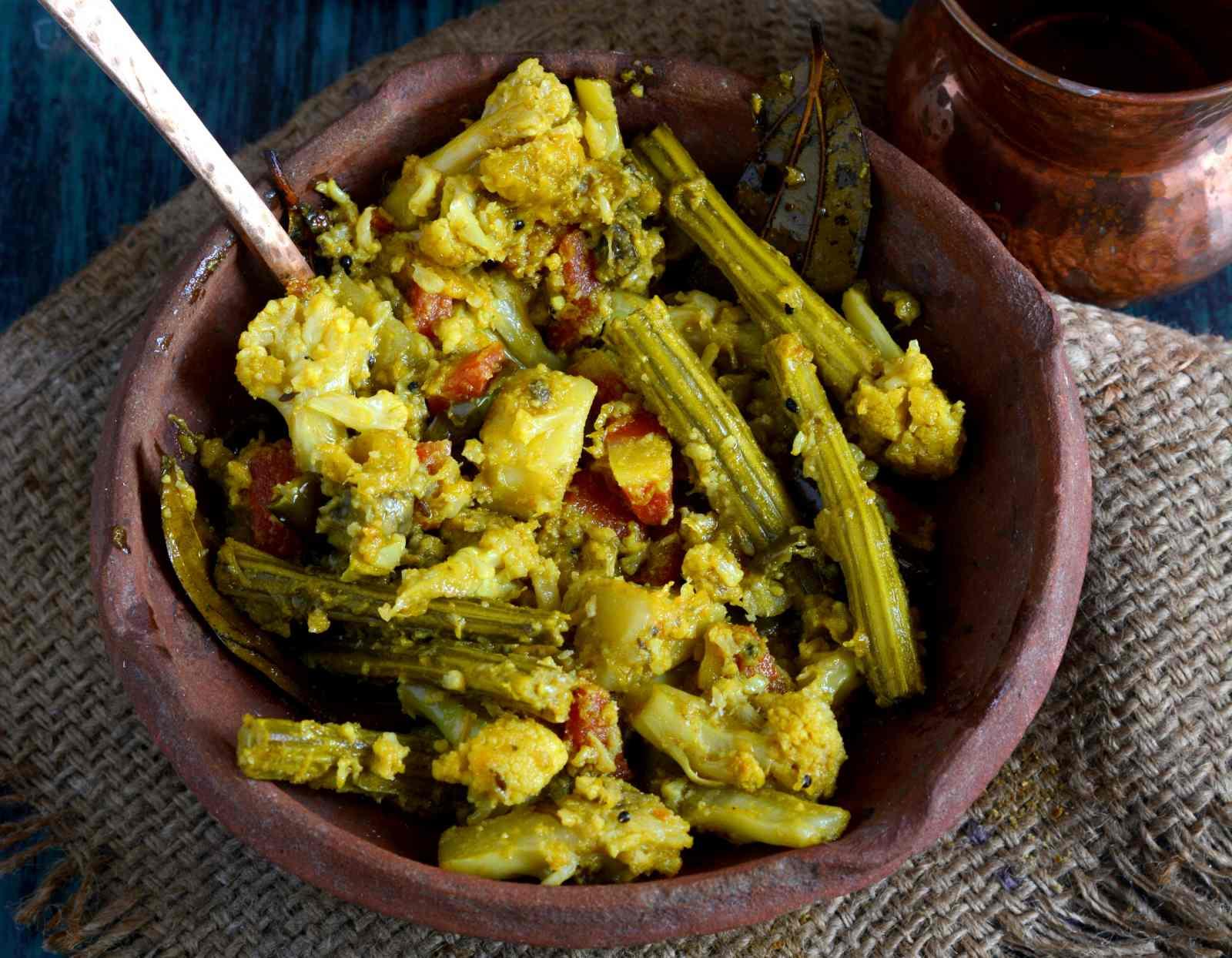 Labra recipe bengali mix vegetable sabzi by archanas kitchen labra recipe bengali mix vegetable sabzi forumfinder Choice Image