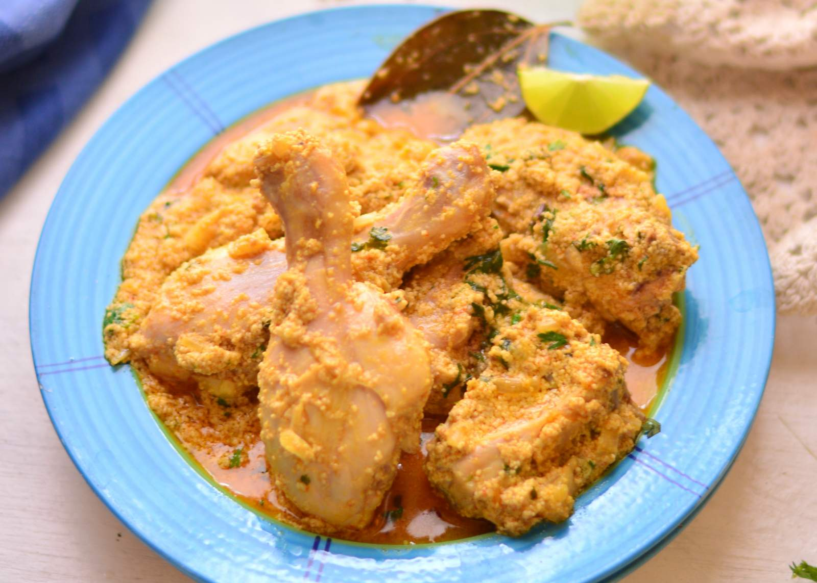 Posto chicken recipe bengali chicken in poppy seed paste by posto chicken recipe bengali chicken in poppy seed paste forumfinder Choice Image