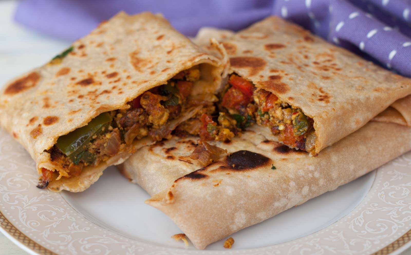 Veg mughlai paratha recipe by archanas kitchen forumfinder Choice Image