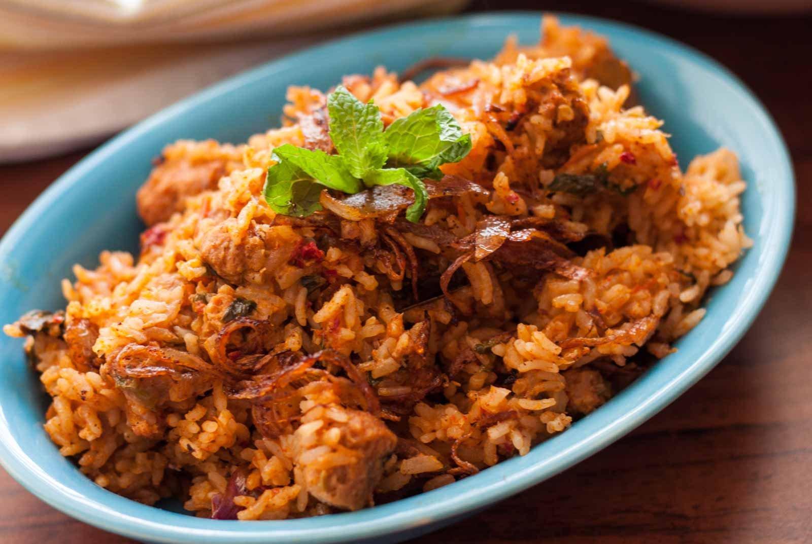 Andhra style vegetarian biryani with soya chunks recipe by andhra style vegetarian biryani with soya chunks recipe forumfinder Images