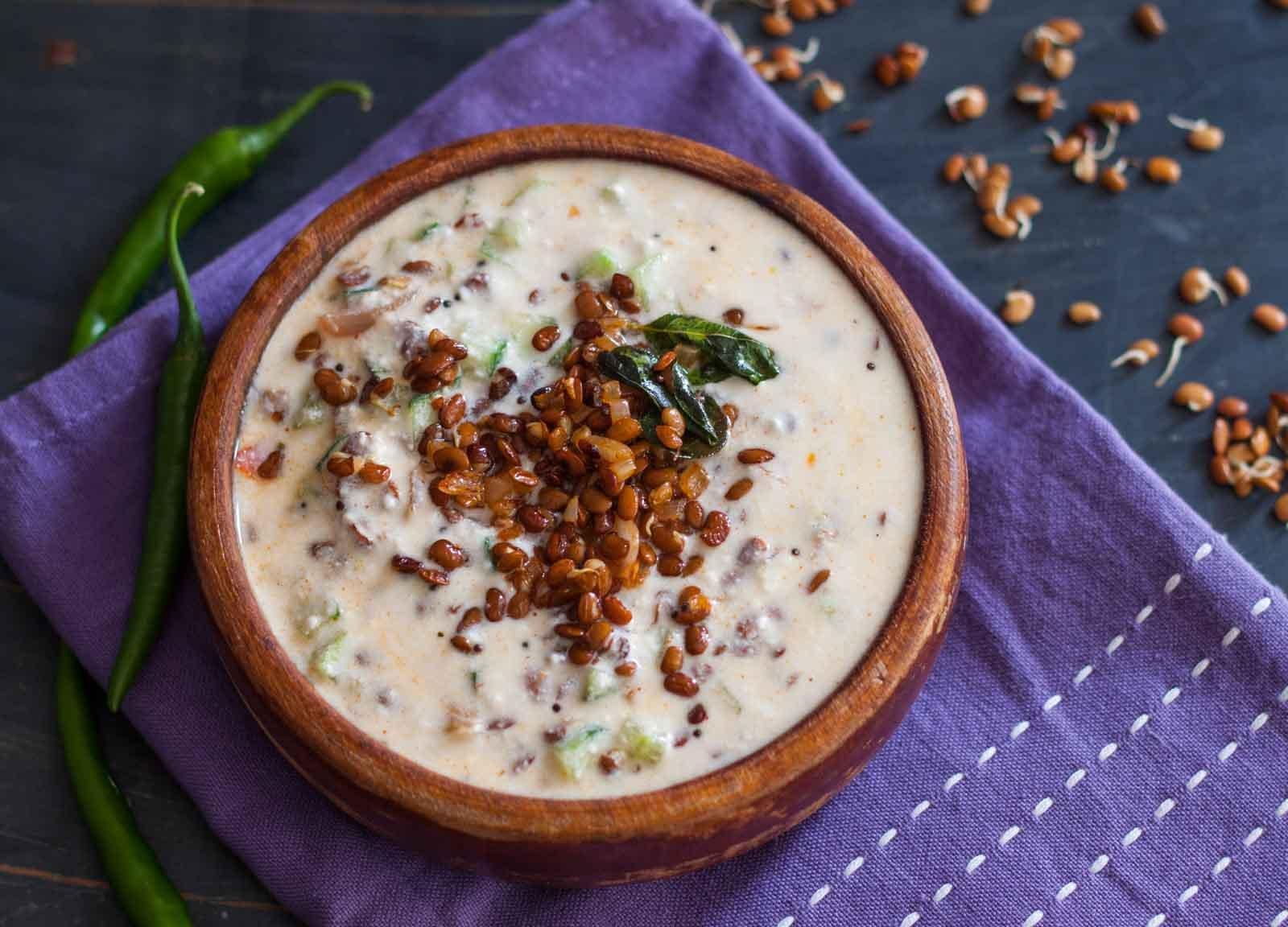 Kollu pachadi recipe sprouted horse gram raita recipe by archanas kollu pachadi recipe sprouted horse gram raita recipe forumfinder Image collections