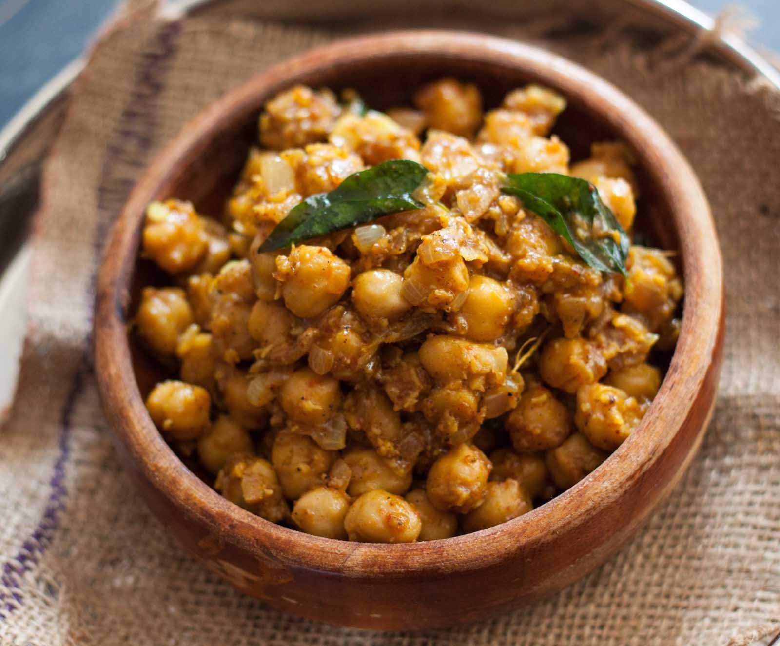 dry chana masala recipe