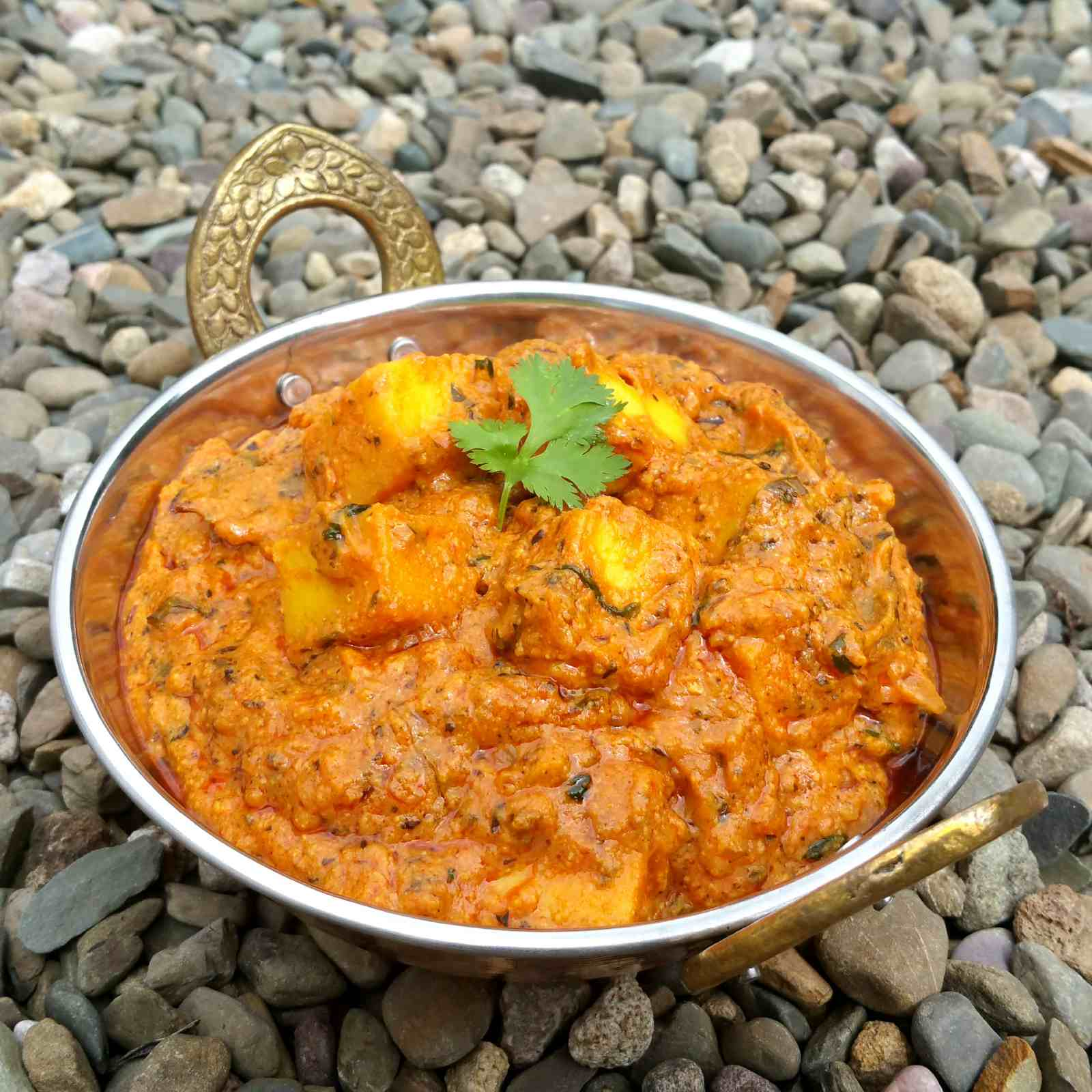 Dhaba style paneer butter masala recipe by archanas kitchen dhaba style paneer butter masala recipe forumfinder Choice Image