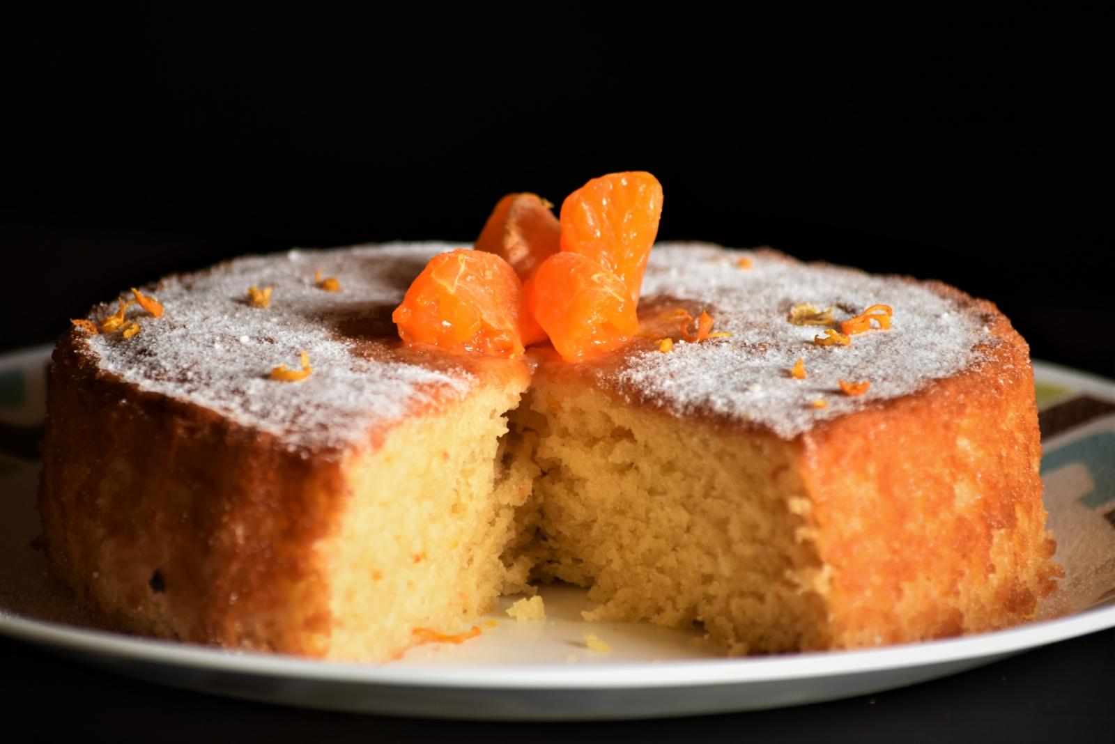 Blood Orange Cake Filling