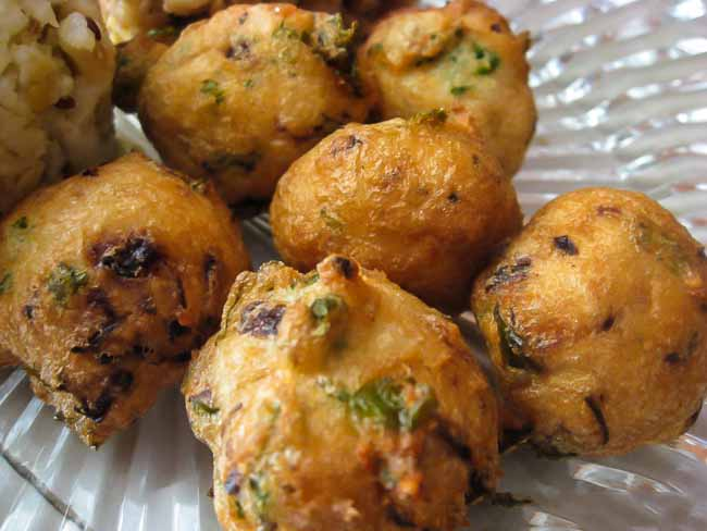 Cabbage Onion Vada