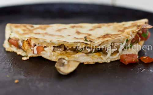 Chipotle Roasted_Mushroom__Quesadillas-8