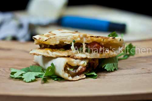 Chipotle Roasted_Mushroom__Quesadillas-9