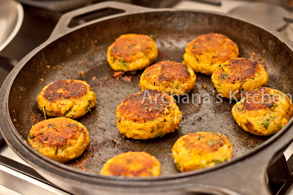 Aloo Tikki Potato Cutlets