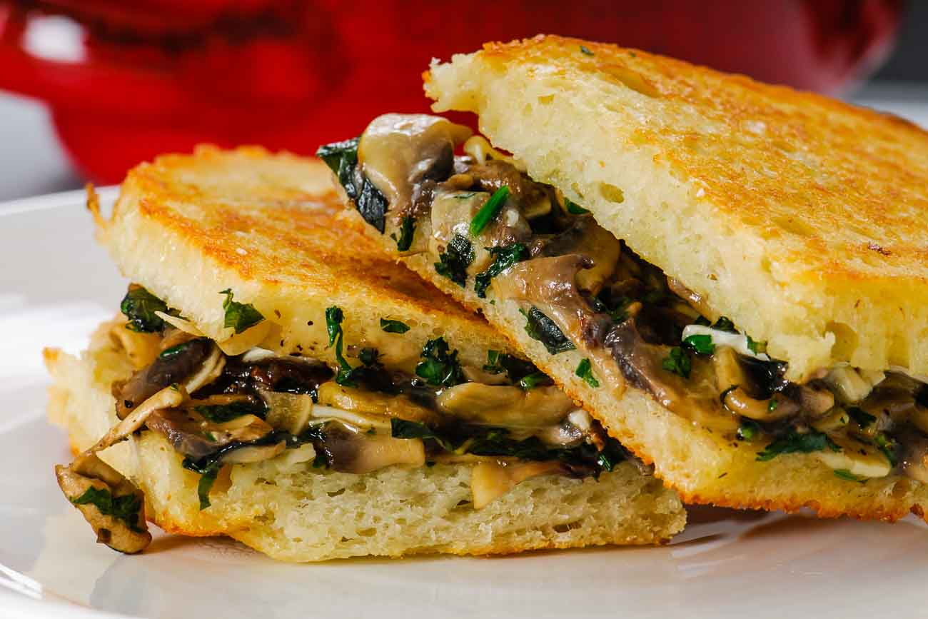 Image Gallery Mushroom Sandwich