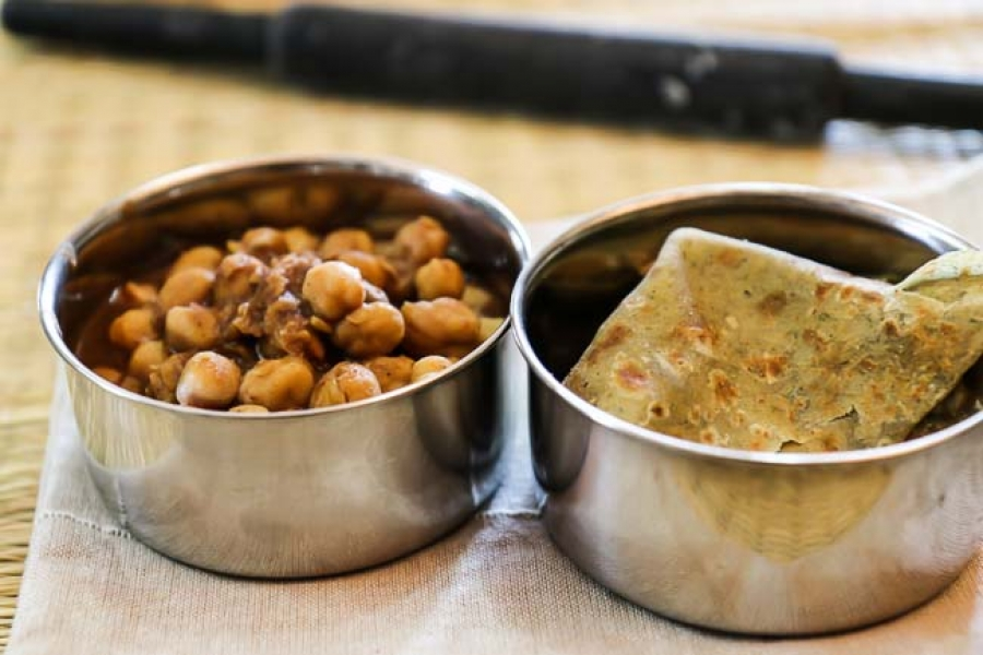 Chana masala puri kids lunch box recipes by archanas kitchen chana masala puri kids lunch box recipes forumfinder Images