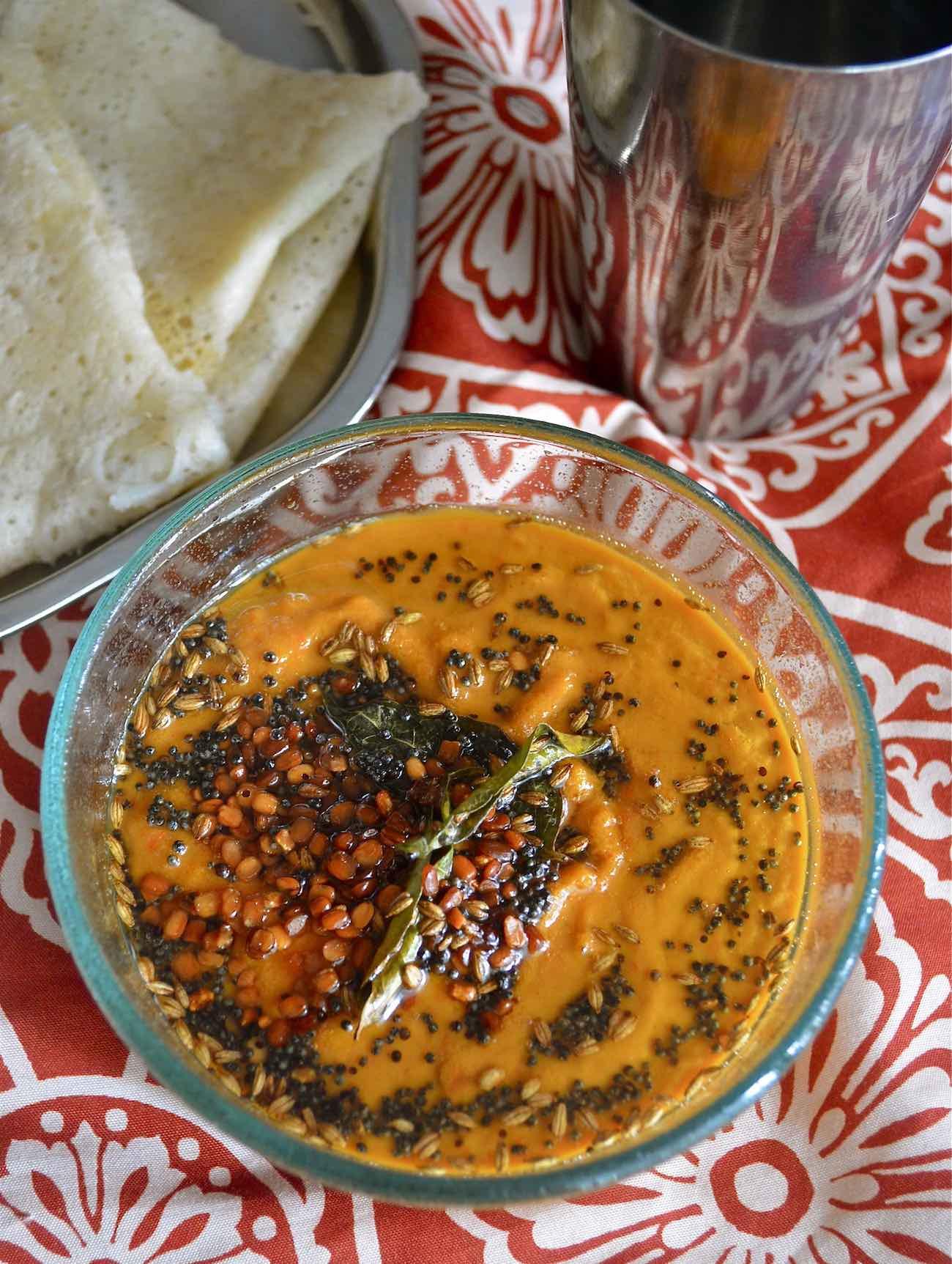 Capsicum Chutney Recipe – Red Bell Pepper Chutney