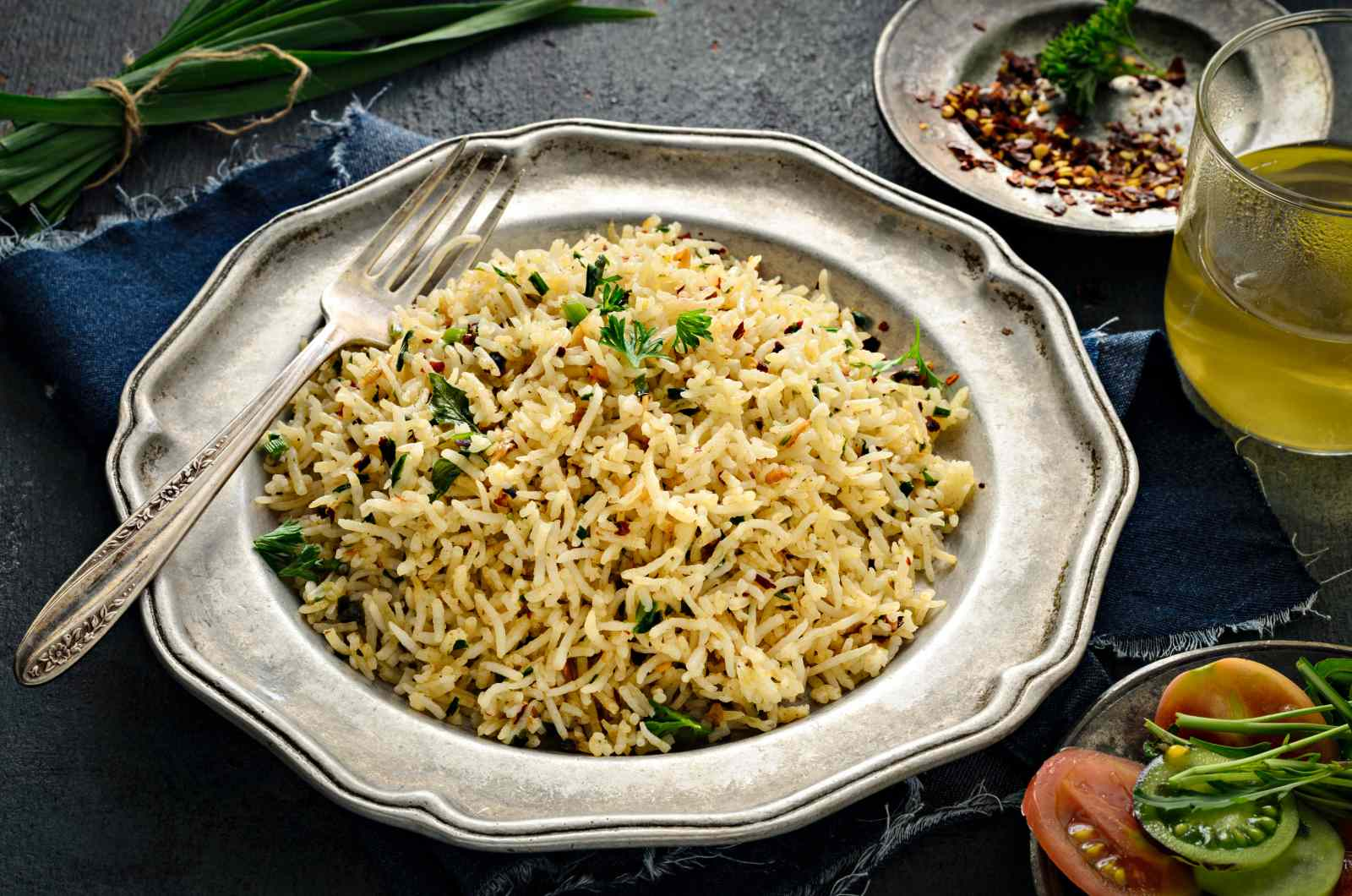 Buttered Herbed Rice Recipe